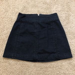 Free People Zip To It Skirt